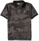 Ralph Lauren Camo Stretch Lisle Polo Shirt