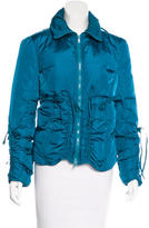 Blumarine Zip-Up Puffer Jacket