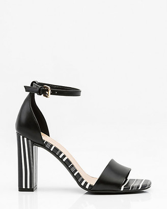 Le Château Stripe Ankle Strap Sandal