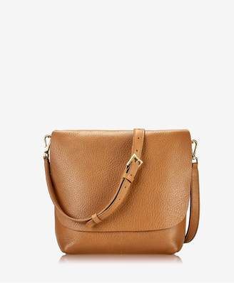 GiGi New York Andie Crossbody In Camel Napa Luxe