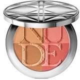 Christian Dior Diorskin Nude Tan Paradise Duo Iridescent Blush & Bronzing Powder (With Kabuki Brush) - # 002 Coral Glow 9.5g/0.33oz