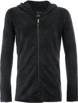 Avant Toi knitted zip hoodie - men - Cashmere/Merino - S