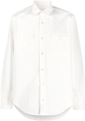 Eleventy Oversized Long-Sleeve Shirt