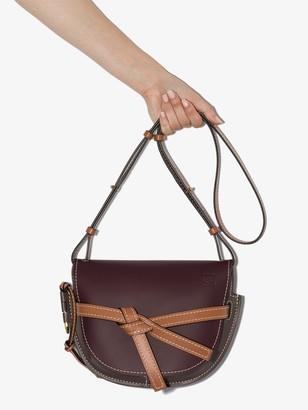 Loewe brown Gate leather cross body bag