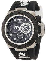 Invicta Women's 10159 Subaqua Noma IV Chronograph Black Dial Black and Blue Silicone Watch