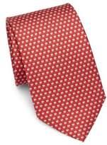 Salvatore Ferragamo Hot Coffee Silk Tie