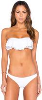 Sofia by Vix Ruffle Bandeau Bikini Top
