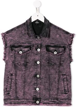 Andorine Oversized Sleeveless Jacket
