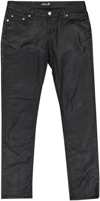 Seven7 Seven 7 Black Cotton - elasthane Jeans for Women