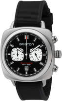 Briston Clubmaster Sport Chronograph Watch, Black/White