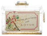 Kotur Holiday Glitter Globe Minaudiere w/ Tags
