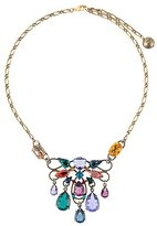 Lanvin short clustered stone necklace