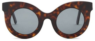 Cat Eye Millicent 49MM Thick Frame Sunglasses