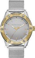 Sean John Men's Corsica Stainless Steel Mesh Bracelet Watch 46mm