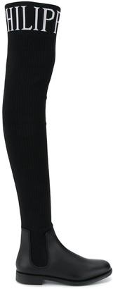 Philipp Plein Sock Boots