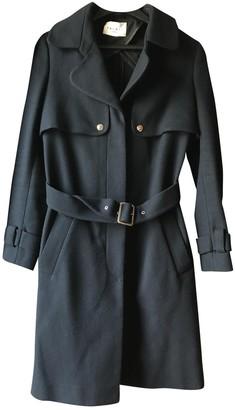 Sandro Blue Coat for Women