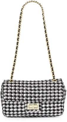Karl Lagerfeld Paris Houndstooth Crossbody Bag