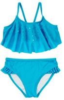 Crazy 8 Sequin Ruffle Two-Piece Swimsuit