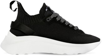 DSQUARED2 50MM ICON KNIT PULL-ON SNEAKERS