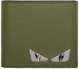 Fendi Green 'Bag Bugs' Wallet