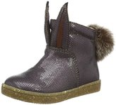 Ocra Girls' 393mt Warm-Lined Short-Shaft Boots and Bootees purple Size: 5 Child UK