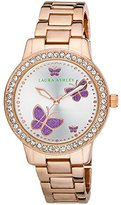 Laura Ashley Women's LA31015RG Analog Display Japanese Quartz Rose Gold Watch