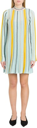 M Missoni Ribbed Knitted Dress