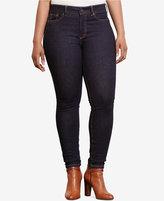 Lauren Ralph Lauren Plus Size Premier Stretch Skinny Jeans