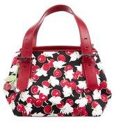 Karen Millen Cherry Print Handle Bag