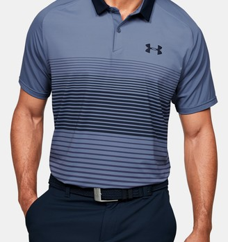 Under Armour Men's UA Iso-Chill Polo Stripe