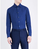 Richard James Contemporary-fit Linen Shirt