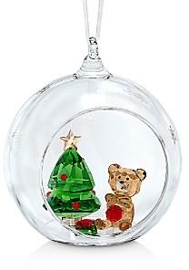 Swarovski Ball Ornament, Christmas Scene