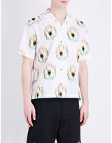Stella Mccartney Distorted Floral-print Cotton Shirt