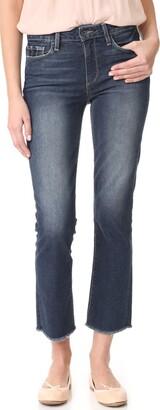 Paige Women's Jacqueline Frayed Hem W/Shadow Pocket Jeans