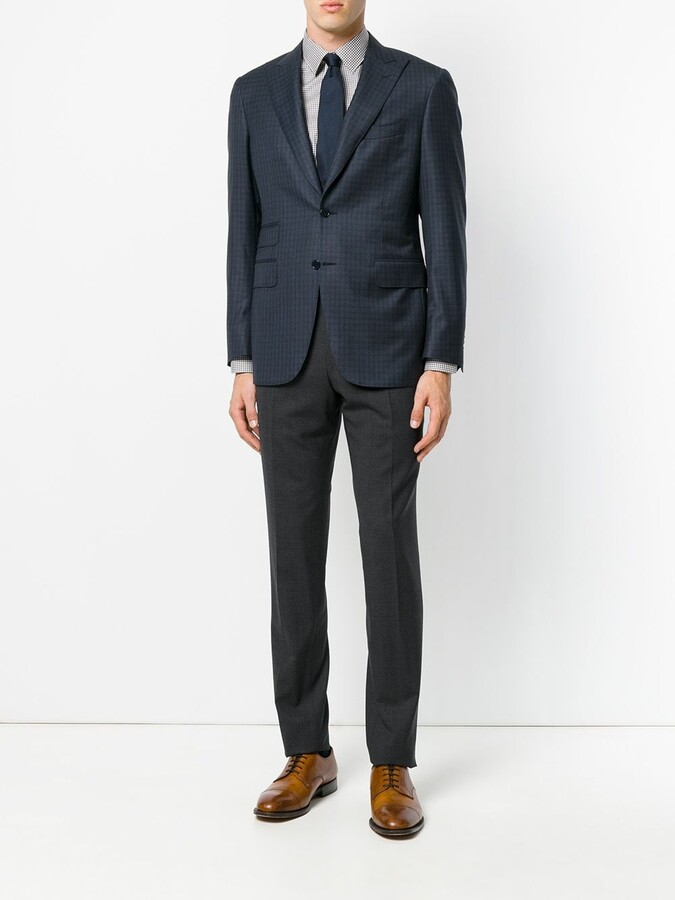 Canali tailored trousers