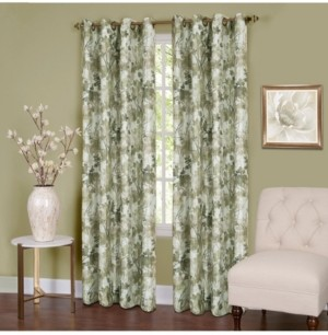 Achim Tranquil Lined Grommet Window Curtain Panel, 50x63