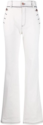 See by Chloe Flared High Waisted Jeans