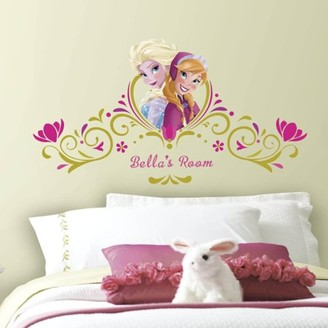 Room Mates Frozen Springtime Custom Headboard Peel and Stick Giant Wall Decals