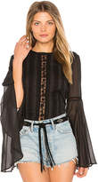 The Jetset Diaries Amorie Top in Black. - size L (also in M,S,XS)