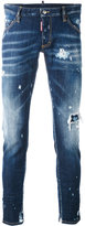DSQUARED2 distressed skinny jeans - men - Cotton/Spandex/Elastane - 46