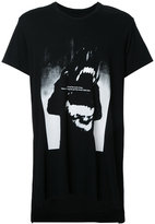 Julius text print T-shirt - men - Cotton/Modal - 1