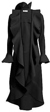 Chiara Boni Women's Shiva Ruffle Coat