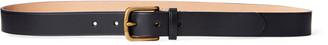 Ralph Lauren Vachetta Leather Skinny Belt