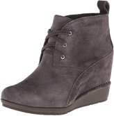 Rockport Women's Total Motion 80mm Desert Boot - Lace Up Nubuck/Grey 7.5 M (B)