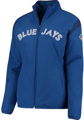 Majestic Women's Royal Toronto Blue Jays On-Field Thermal Jacket
