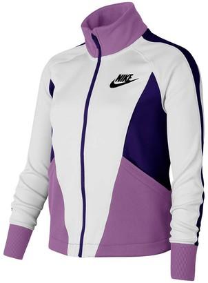 Nike Girls Sportswear Heritage Jacket