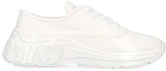 Miu Miu Run Lace-Up Sneakers