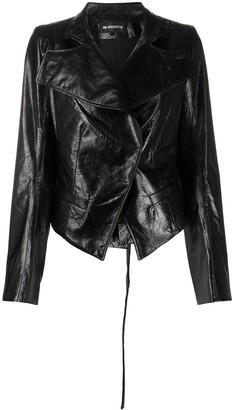 Ann Demeulemeester Short Leather Jacket