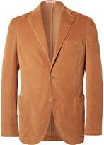 Boglioli - Brown Slim-fit Stretch-cotton Corduroy Blazer