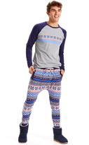 Peter Alexander peteralexander Mens Let It Snow Fleece Pj Pant